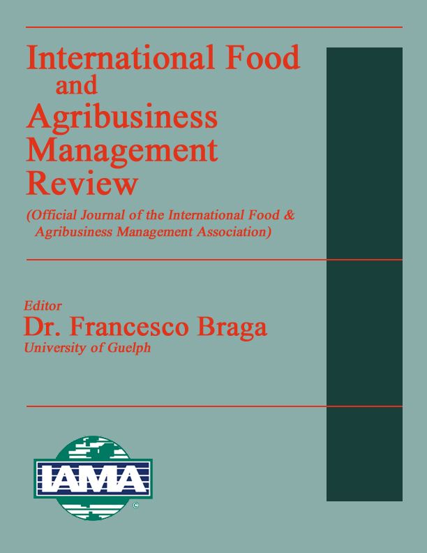 The International Food And Agribusiness Management Review